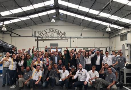 Visita de Luiz Pedrucci Presidente da Renault do Brasil