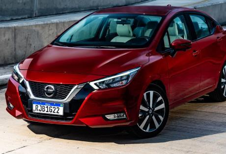 Nissan versa e seus detalhes