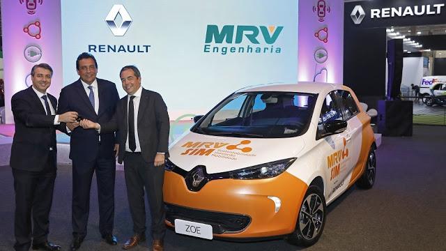 Renault Comemora 1000 Carros Elétricos Vendidos na América Latina