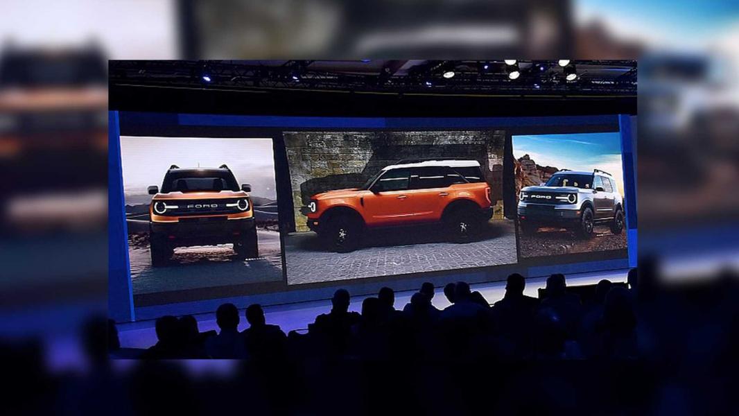 Novo Ford Bronco aparece em Apresentação para Concessionárias