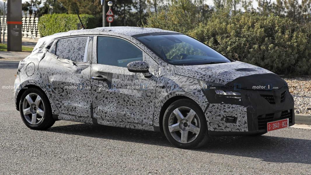 Renault Clio 2019 é Flagrado em Nova Geração