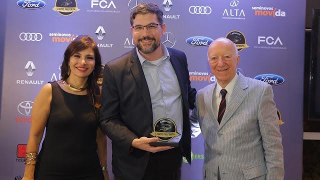 Sandero R.S. Ganha Prêmio L' Auto Preferita Carsughi pela Renault