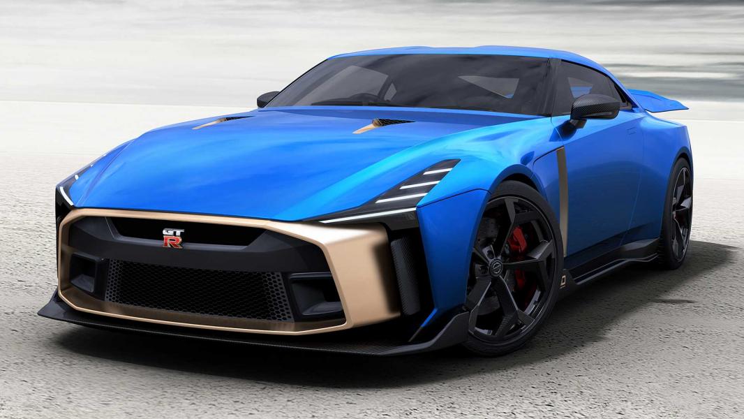 Nissan GT-R50 Será Produzido e Já Pode Ser Encomendado Até Mesmo no Brasil