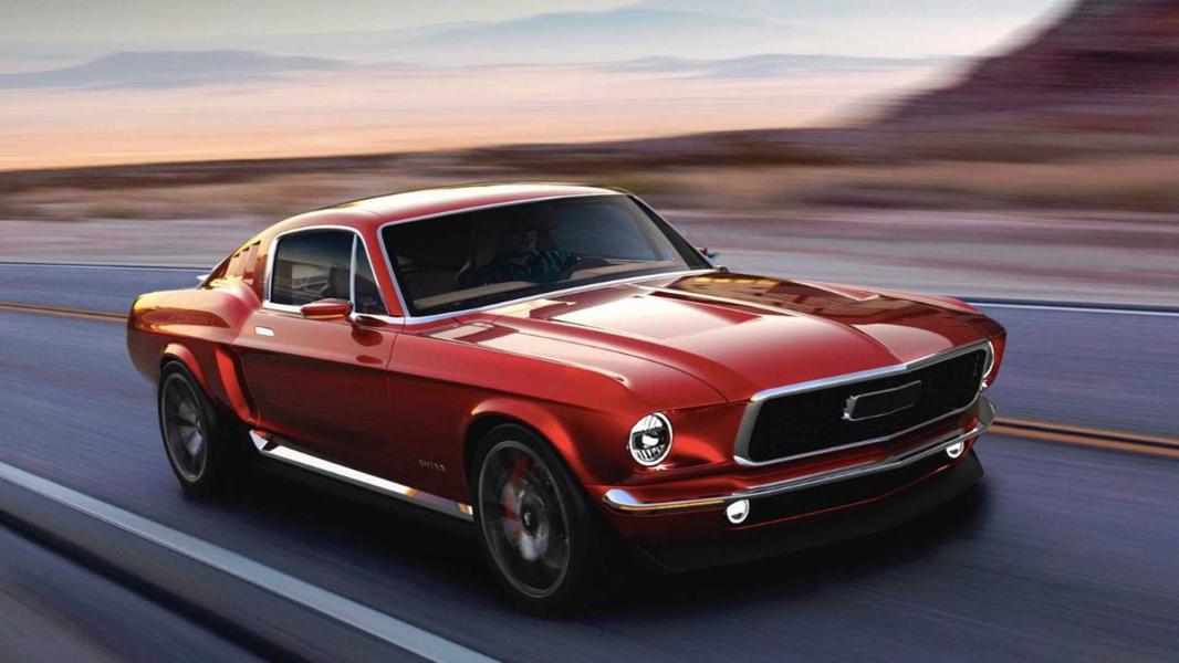 Mustang Elétrico Inspirado na Geração de 1967 é Planejado por Empresa Russa