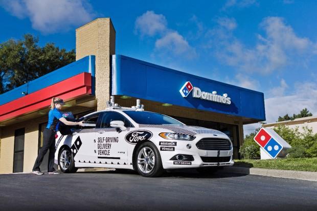 A Partir de 2021 a Ford Entregará Pizza e Mercadorias sem Motoristas