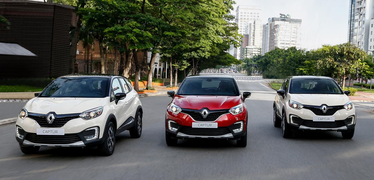 Recorde de Participação da Renault no Brasil em 2018