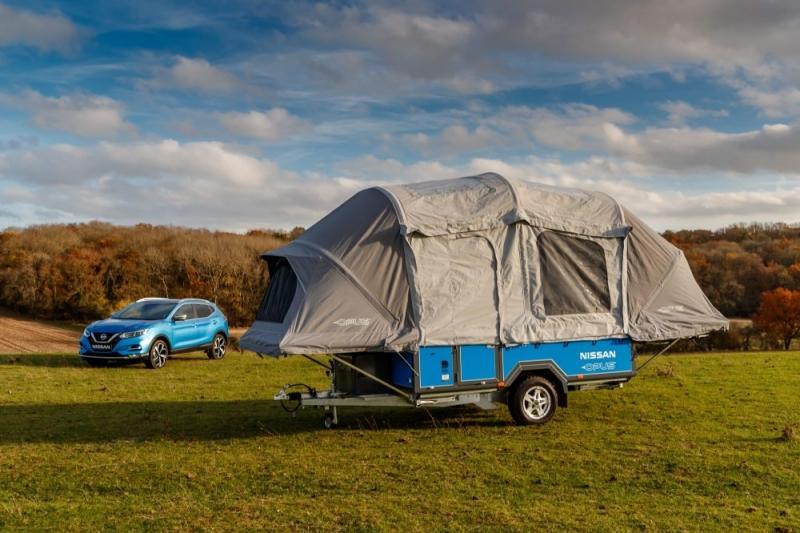 Baterias do LEAF são Recicladas em tenda de Campismo