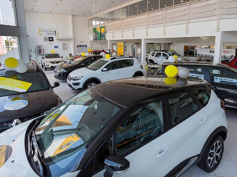 Cresce 16,37% a venda de veículos em fevereiro