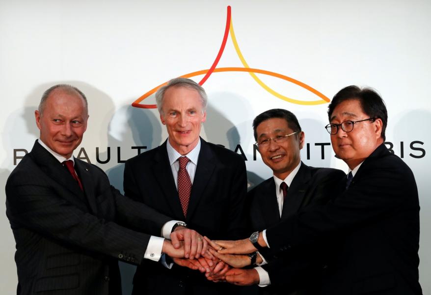 Renault, Nissan e Mitsubishi querem impulsionar o futuro de aliança