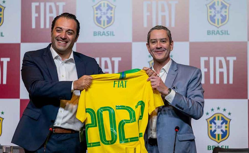 A Fiat é a Nova Patrocinadora Oficial da Seleção Brasileira