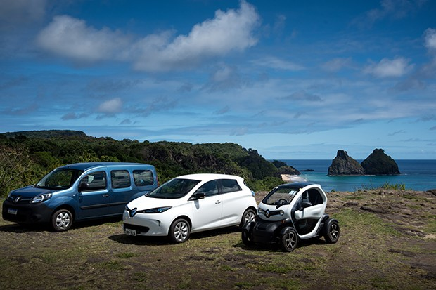 Fernando de Noronha Recebe Renault Elétricos e pretende Banir Carros Normais
