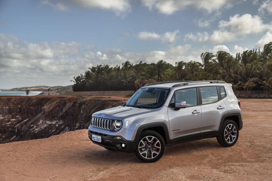 Novos Equipamentos de Série no Jeep Renegade 2020