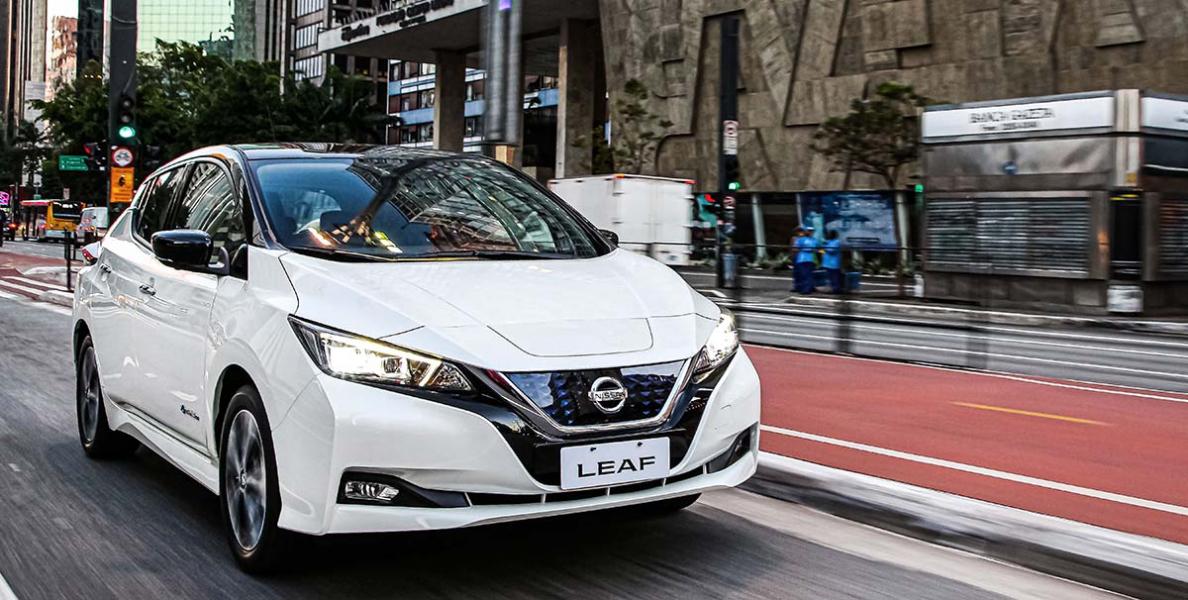 O Elétrico Nissan Leaf Chega no País por 195 Mil Reais