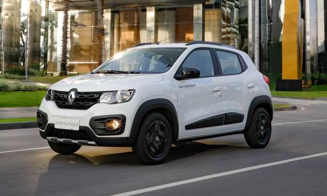 Renault KWID Cresce Quase 60% em um Ano e fica Entre os Hatches mais Vendidos