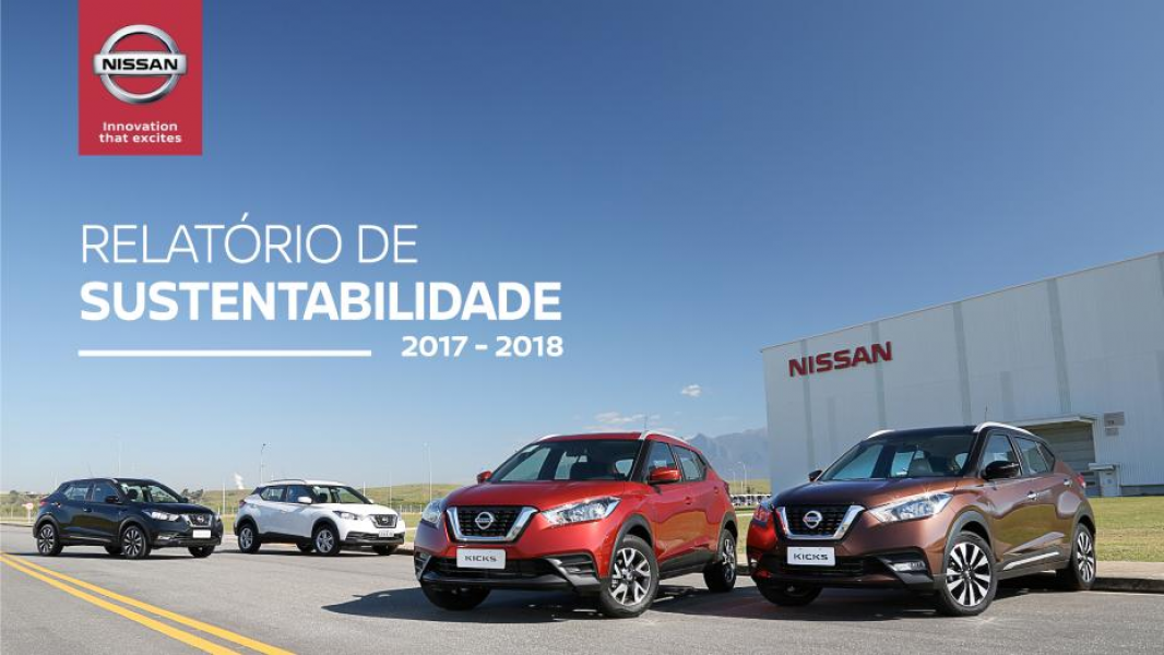 Terceira Edição do Relatório de Sustentabilidade é Divulgado pela Nissan