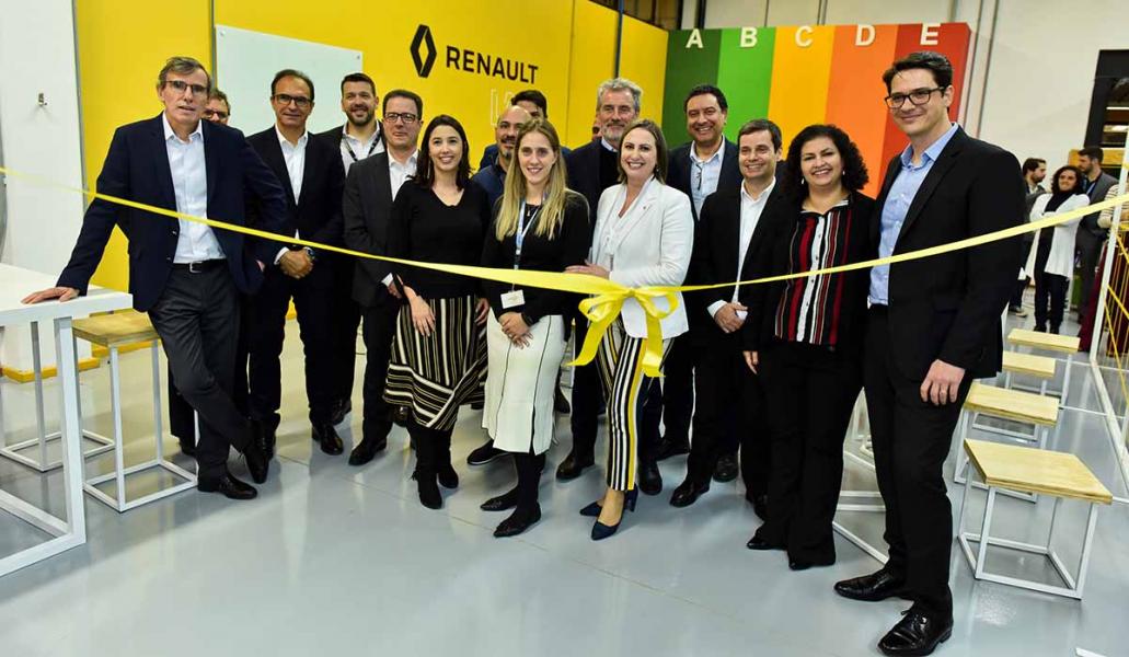 Mais um Lab Inaugurado pela Renault no Brasil