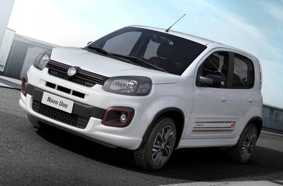 Chega no mercado Novo Fiat Uno com motor 3 cilindros