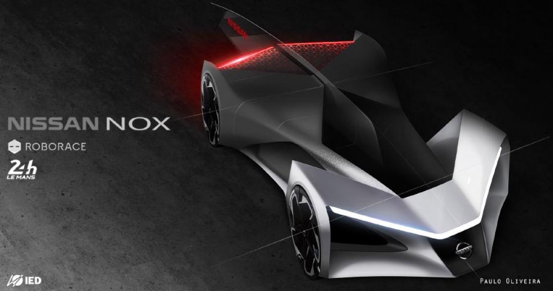 Melhores Trabalhos de Curso de Design Automotivo são Escolhidos por Designers da Nissan