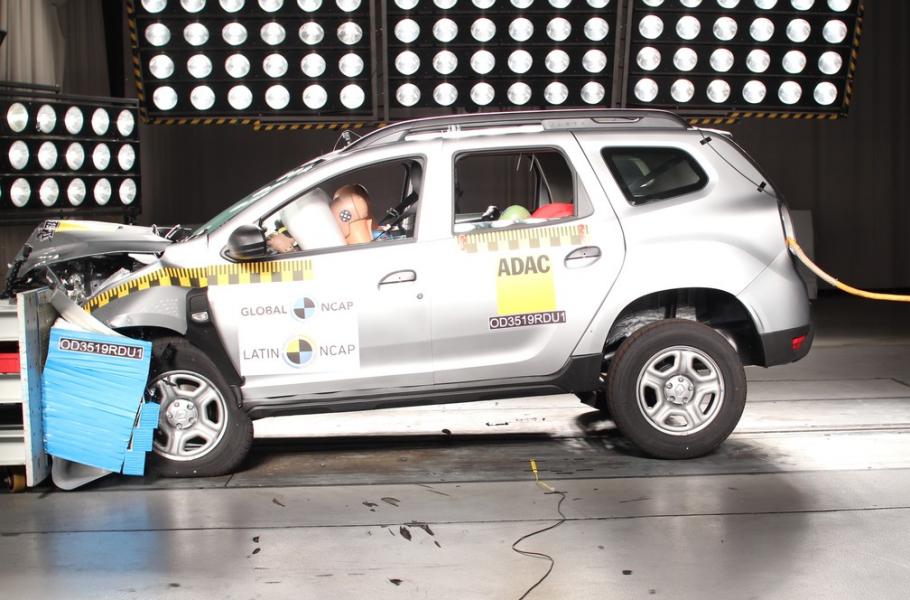 Novo Renault Duster Realiza Teste de Colisão e Recebe 4 Estrelas