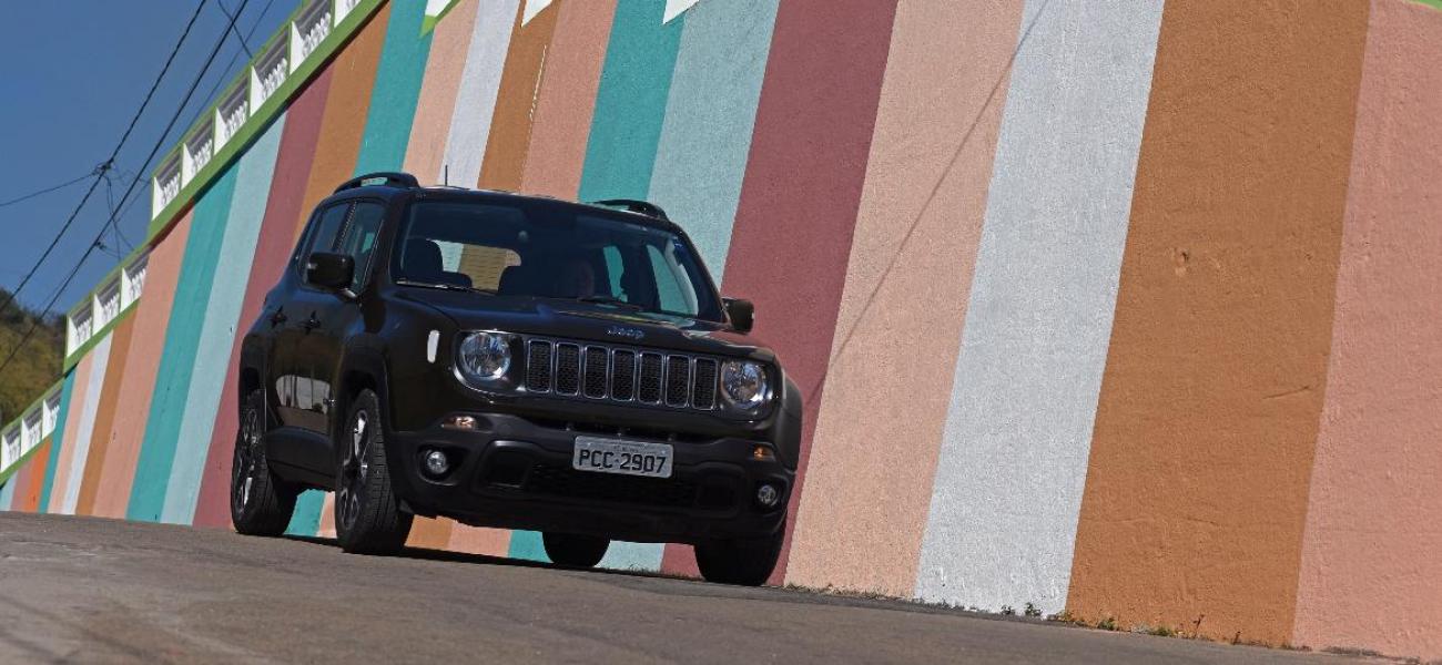 SUV Compacto mais Vendido de 2019 é o Jeep Renegade