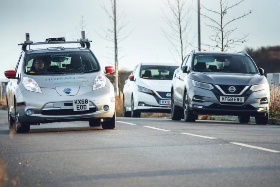 No Modo Condução Autônoma o Nissan LEAF Percorre 370km na Europa