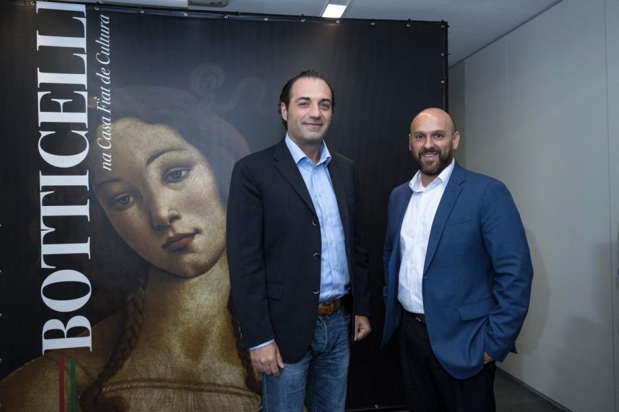 Casa Fiat de Cultura Comemora seus 14 Anos com Anúncio de Botticelli no Brasil