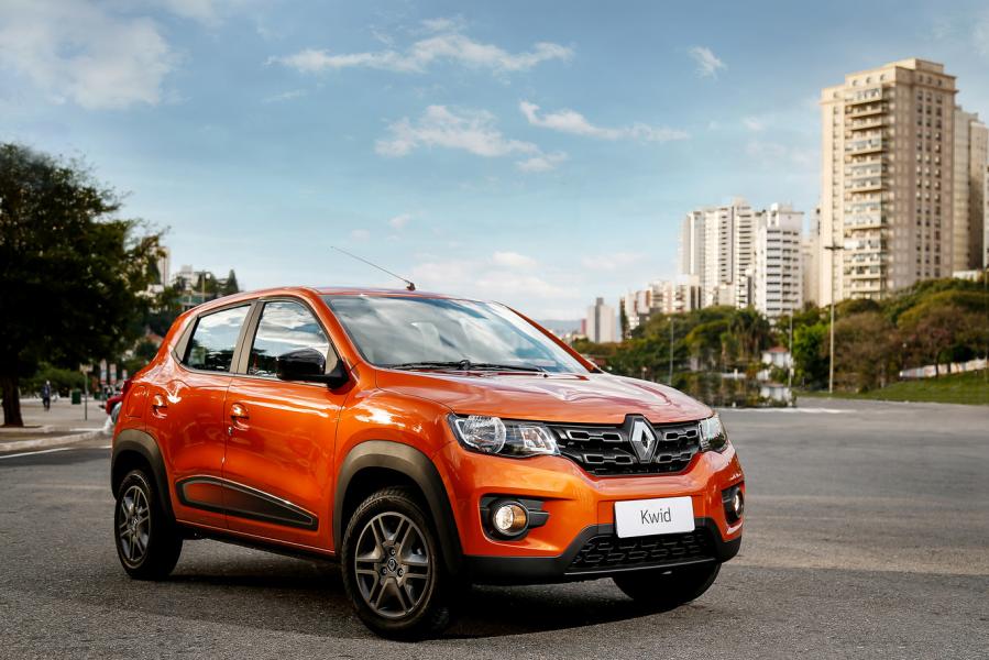 Renault KWID Assume como o Carro mais Barato do Brasil