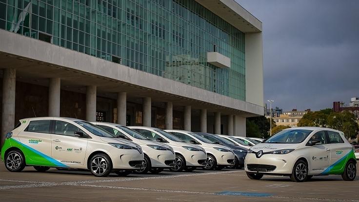 Projeto de Mobilidade Sustentável no Paraná passa a Utilizar 10 Renault Zoe
