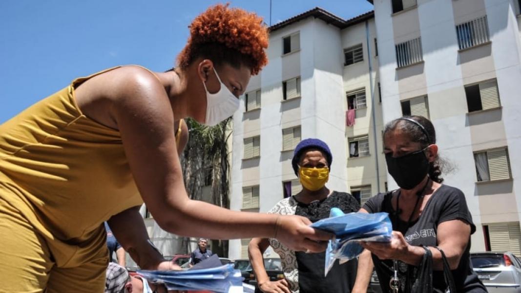 9 Mil Máscaras são Doadas pela Ford Found para Comunidade em São Paulo