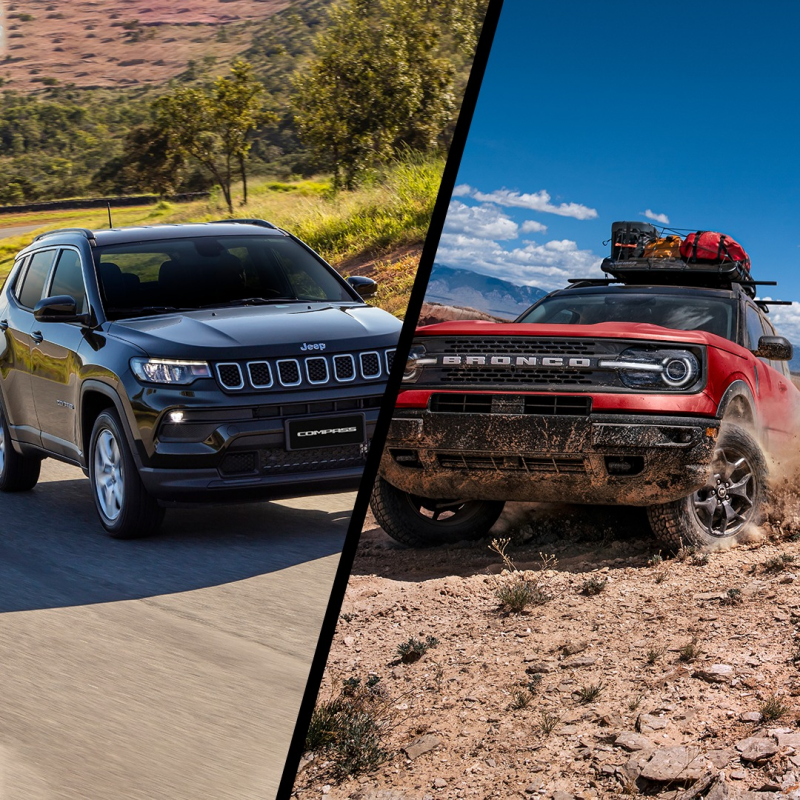 Jeep Compass ou Ford Bronco?