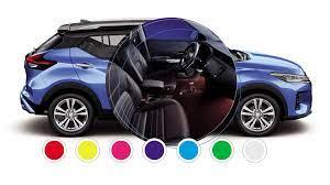 Modelos da Nissan mais coloridos