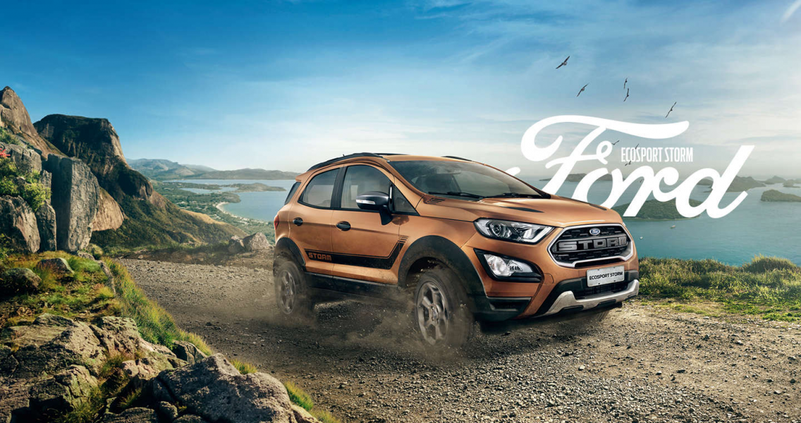 Ele oferece visual exclusivo e tração 4×4, Conheça Ford EcoSport Storm