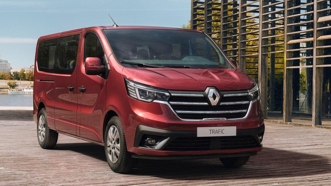 Van Traffic da Renault renovada