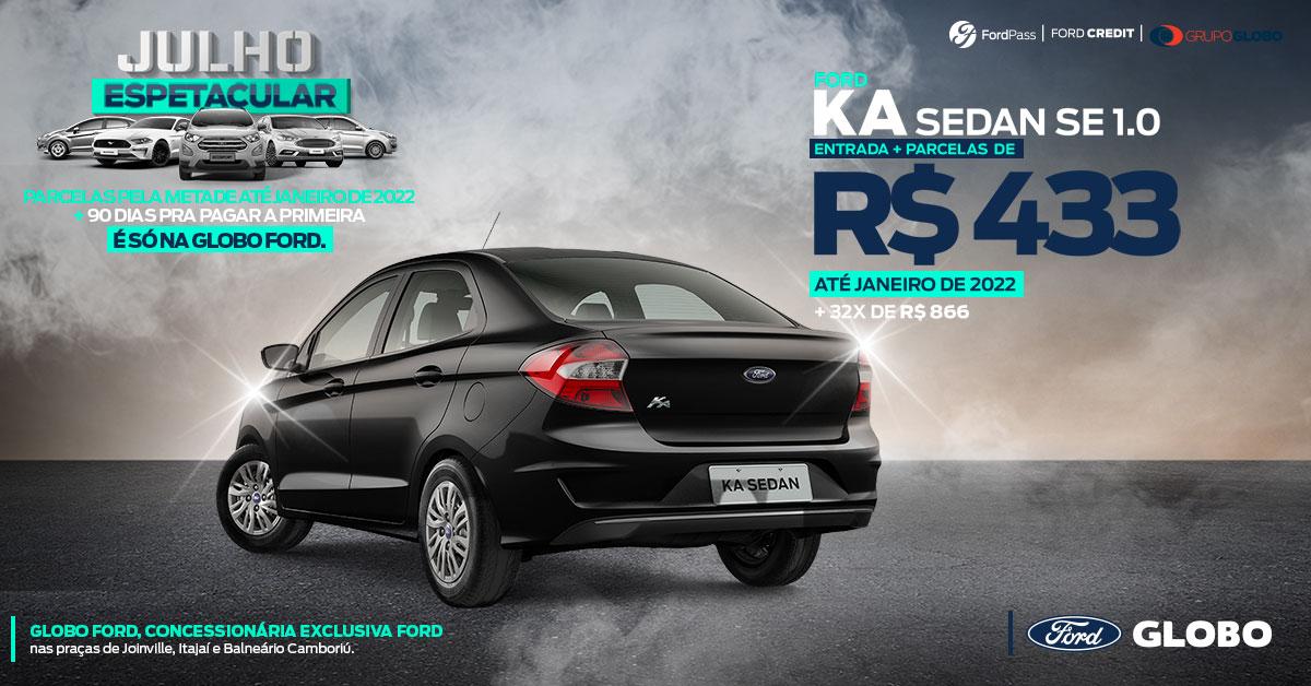 Ka Sedan - Julho 2020