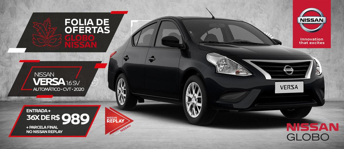 Nissan Versa - Campanha Fevereiro