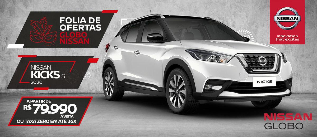 Nissan Kicks - Campanha Fevereiro