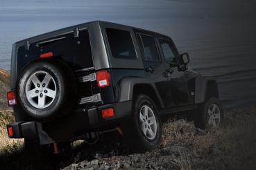 JEEP WRANGLER UNLIMITED da galeria de fotos do Globo Jeep